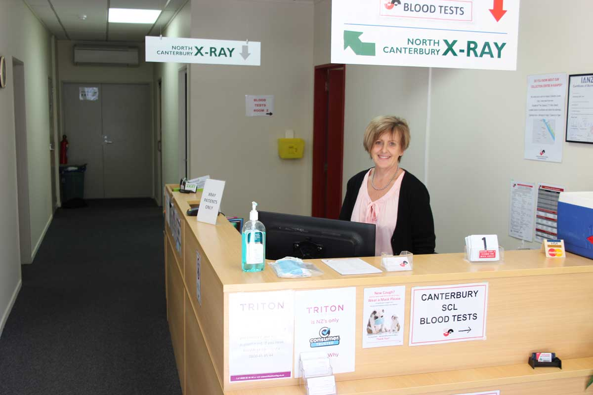 north canterbury xray reception